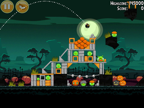 Angry Birds Seasons HD iPad