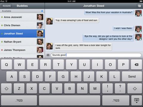 Verbs IM chatten met ene Jonathan