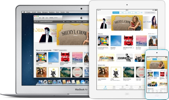 iTunes in the Cloud iOS 7