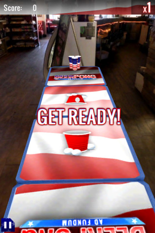 GU MA Beer Pong iPhone iPod touch
