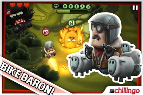 Minigore krijgt update met Bike Baron voor iPhone iPod touch