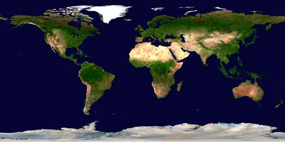 wereldkaart-aarde