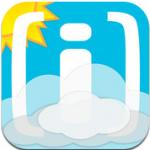 Weerplaza weersvoorspelling uitgebreide weer app iPhone iPod touch