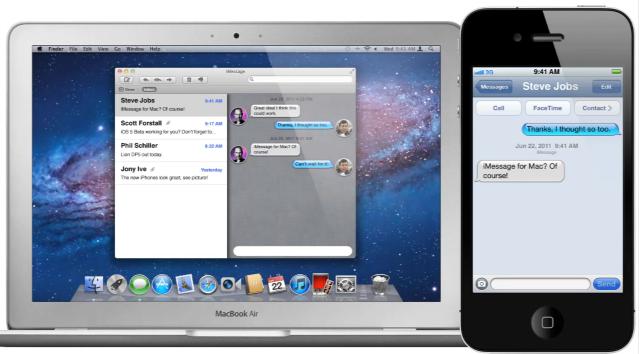 IMessage Mac OSX