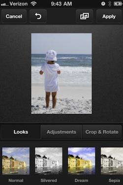 adobe carousel iphone foto