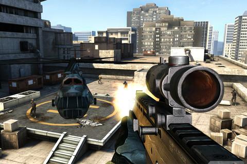 Modern Combat 3 Gameloft iPhone iPod touch