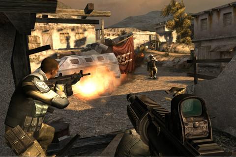 Modern Combat 3 iPhone iPod touch screenshot