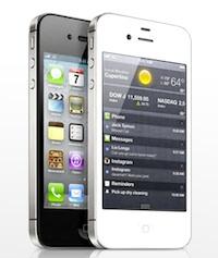iphone 4s zwart wit