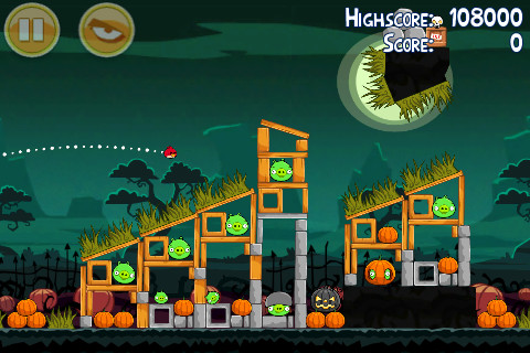 Angry Birds Seasons iPhone Hamoween