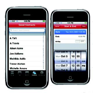 Good Technology iPhone