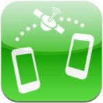 ThereUR iPhone iPod touch locatie anderen vinden