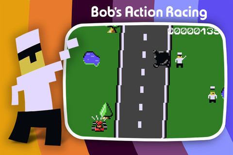 GU WO Bob's Action Racing iPhone iPod touch