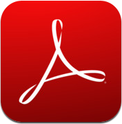 how to save pdf on ipad adobe reader