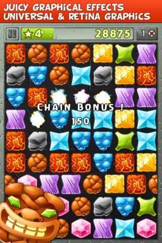 Tiki Match iPhone screenshot