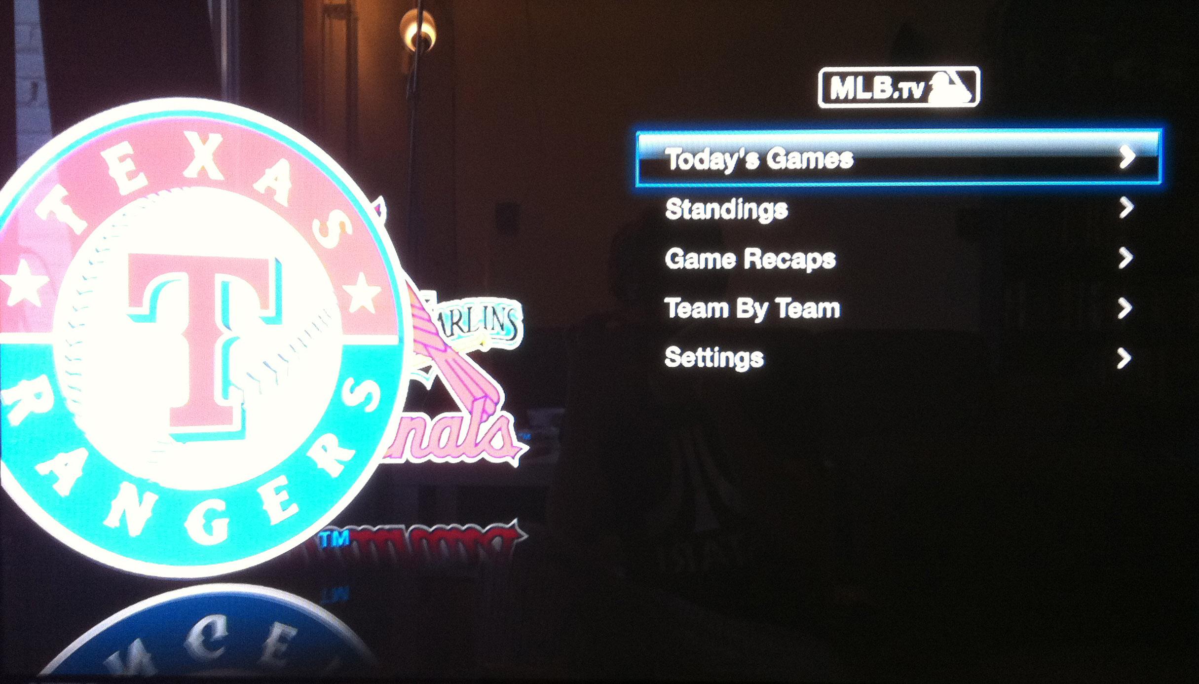 MLB.tv Apple TV