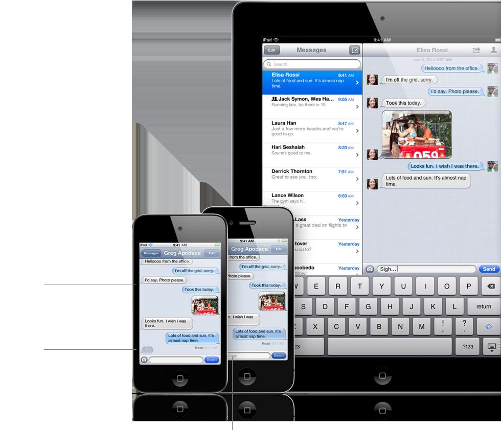 Berichtendienst iMessage in iOS 5