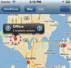 omnifocus iphone locatie