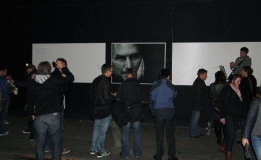 Steve Jobs Memorial Leidseplein