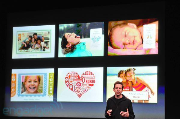 Card op de iPhone presentatie