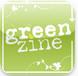 AW Greenzine iPad magazine over groen