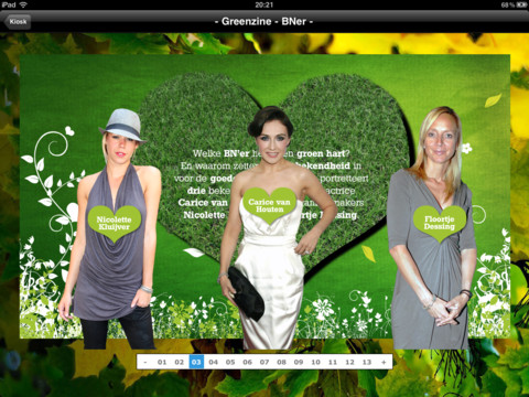 Greenzine Nederlandse dames