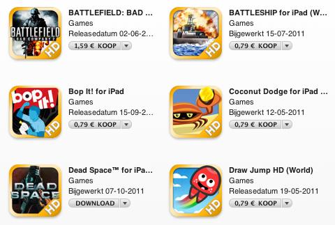 Electronic Arts iPad