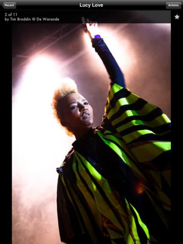 Wannabes concertfoto uitvergroot