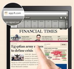 Financial Times webapp