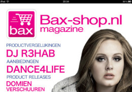 Bax Magazine header wintereditie 2011