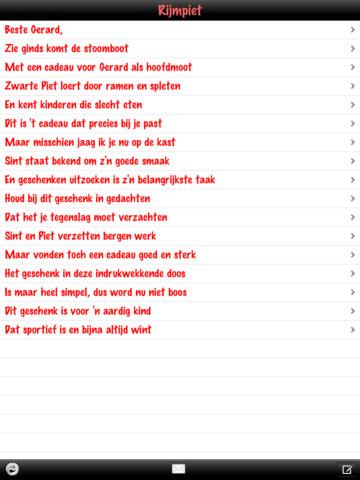 Grappige Sinterklaas Gedichten Maken Archidev