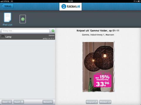 Folders.nl knipsels op een rij