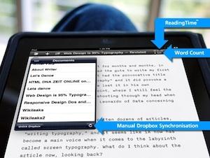 iA Writer iPad
