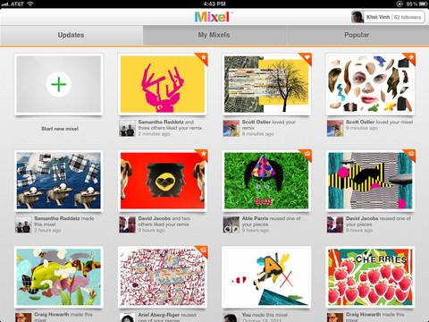 Mixel overzicht van collages en scrapbooks