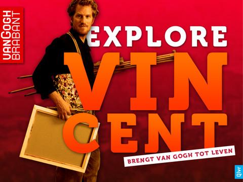Explore Vincent hoofdscherm