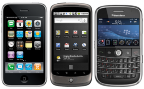 iPhone BlackBerry Android