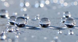 neverwet waterdruppel