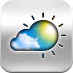 Live Weer iPhone iPad temperatuur in homescreen