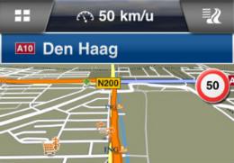 Navigon Benelux update nieuwe kaarten iPhone