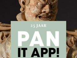 PAN it APP kunstbeurs op de iPhone