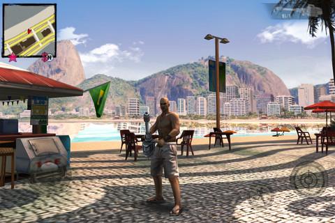 Gangstar Rio header iPhone iPod touch iPad