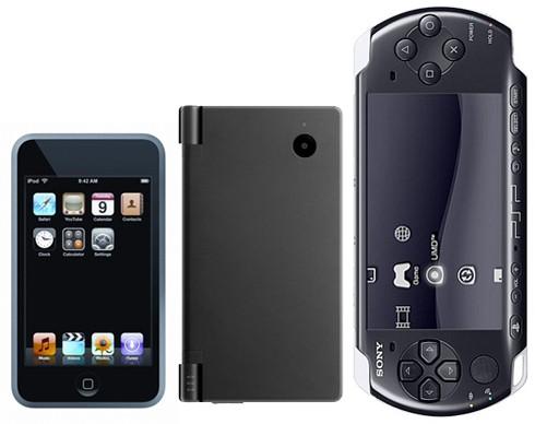 Nintendo DS iPhone PSP