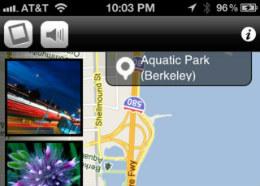 StreetFlow iPhone rondleiding tijdens rijden