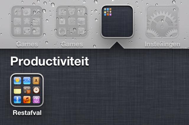 iOS 5 mappen