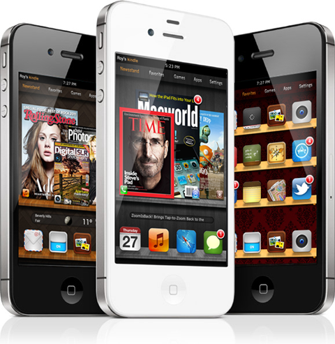 iPhone Kindle Fire