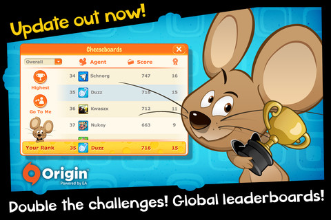 SPY Mouse iPhone iPod touch update leaderboards