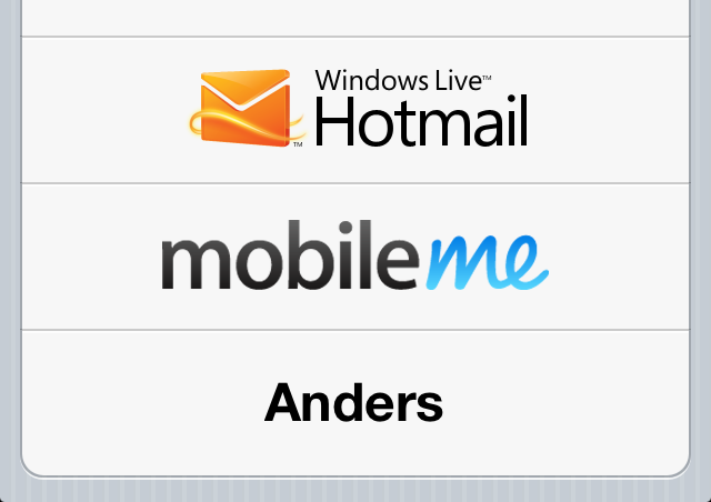 Hotmail iOS
