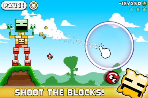 GU WO Blosics iPhone iPod touch Angry Birds blikken schieten
