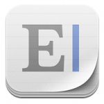 Elements tekstverwerker met Dropbox iPhone