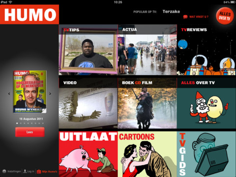 Top 5 iPad apps 2011 HUMO