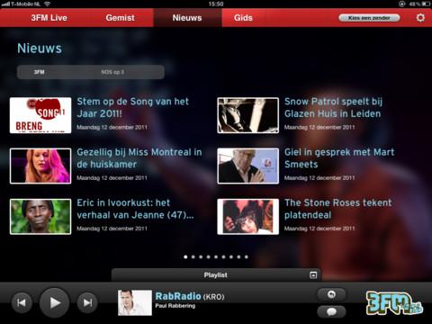 3FM Nieuws app